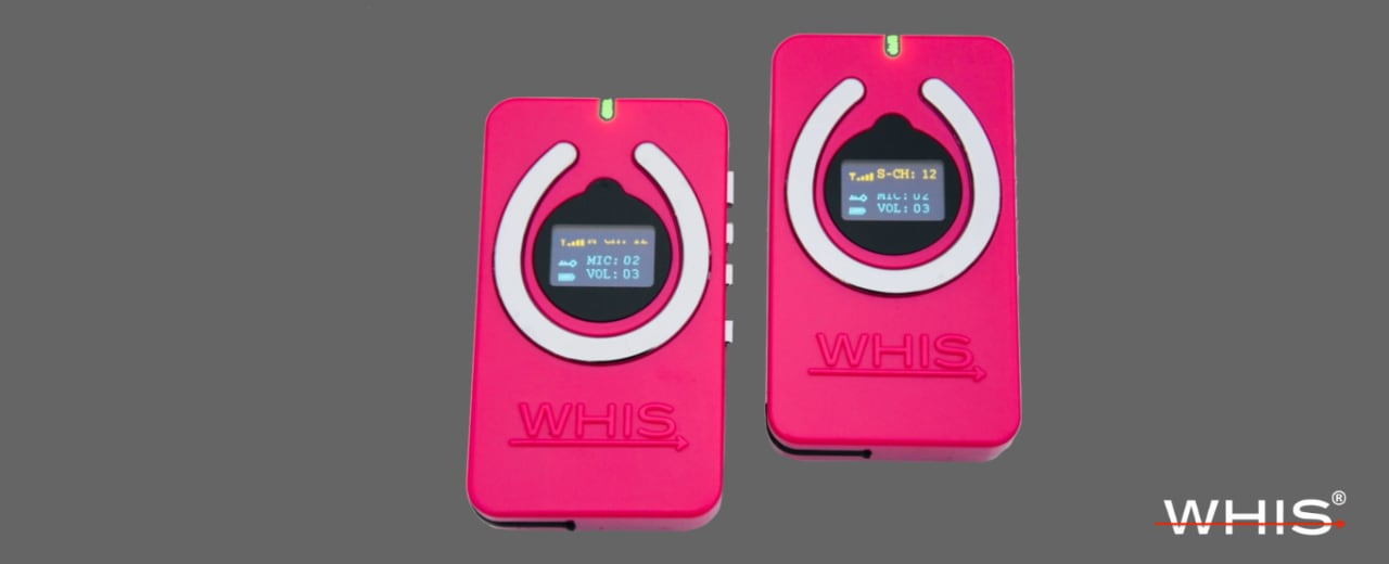 Рации WHIS Competition Pink Edition